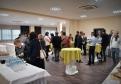 Coffee break počas konferencie v sále Michal