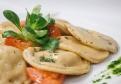 Domáce ravioli plnené špenátom a syrom ricotta